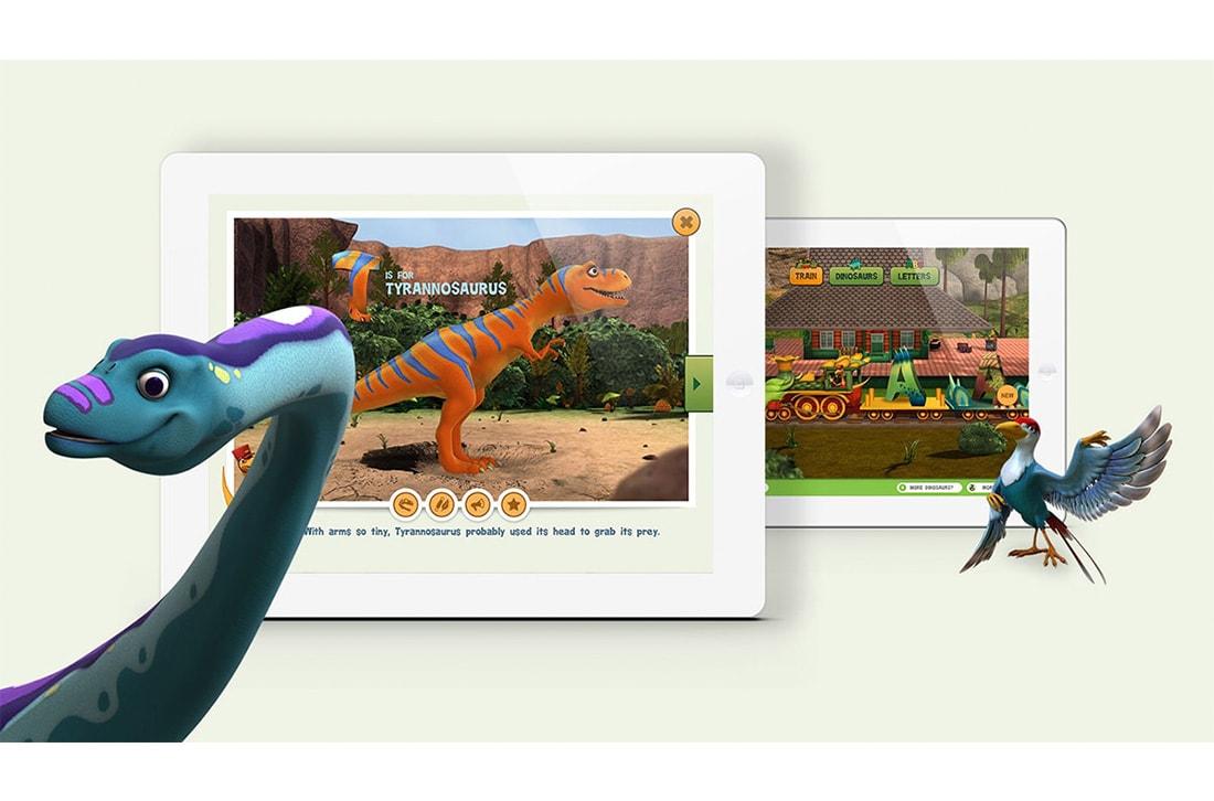 Dinosaur Train App Promo Image