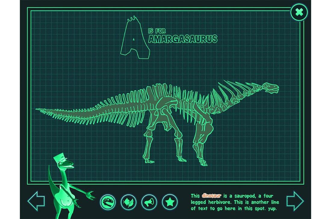 Dinosaur Train A to Z X-Ray