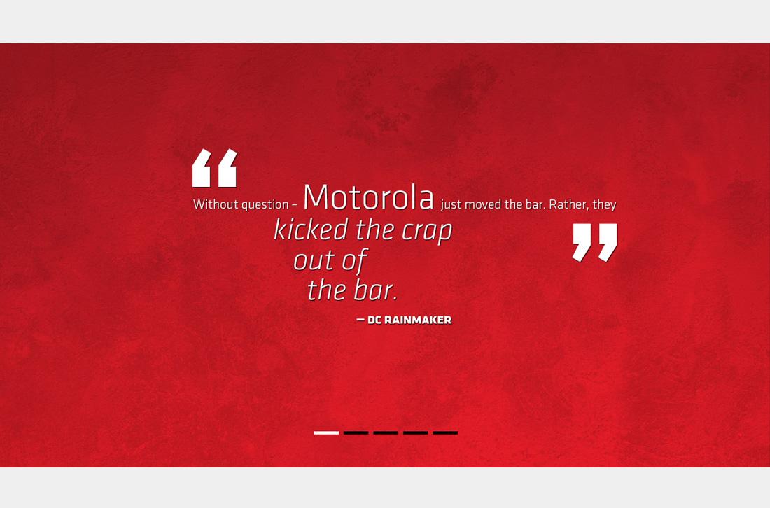 Motorola - DC Rainmaker