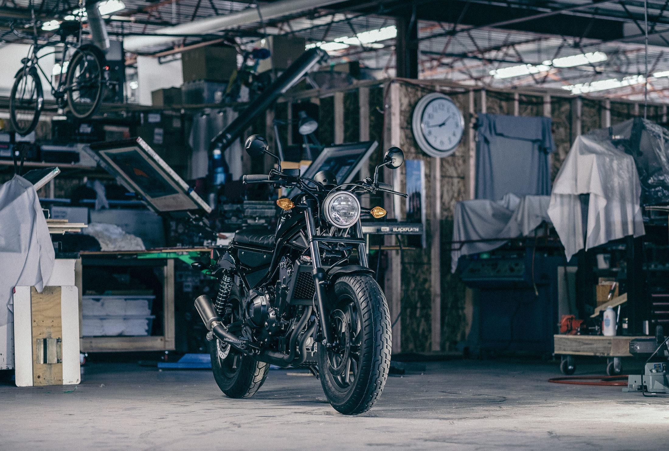 Pantheon Moto. Honda Motorcycle photo documentary.