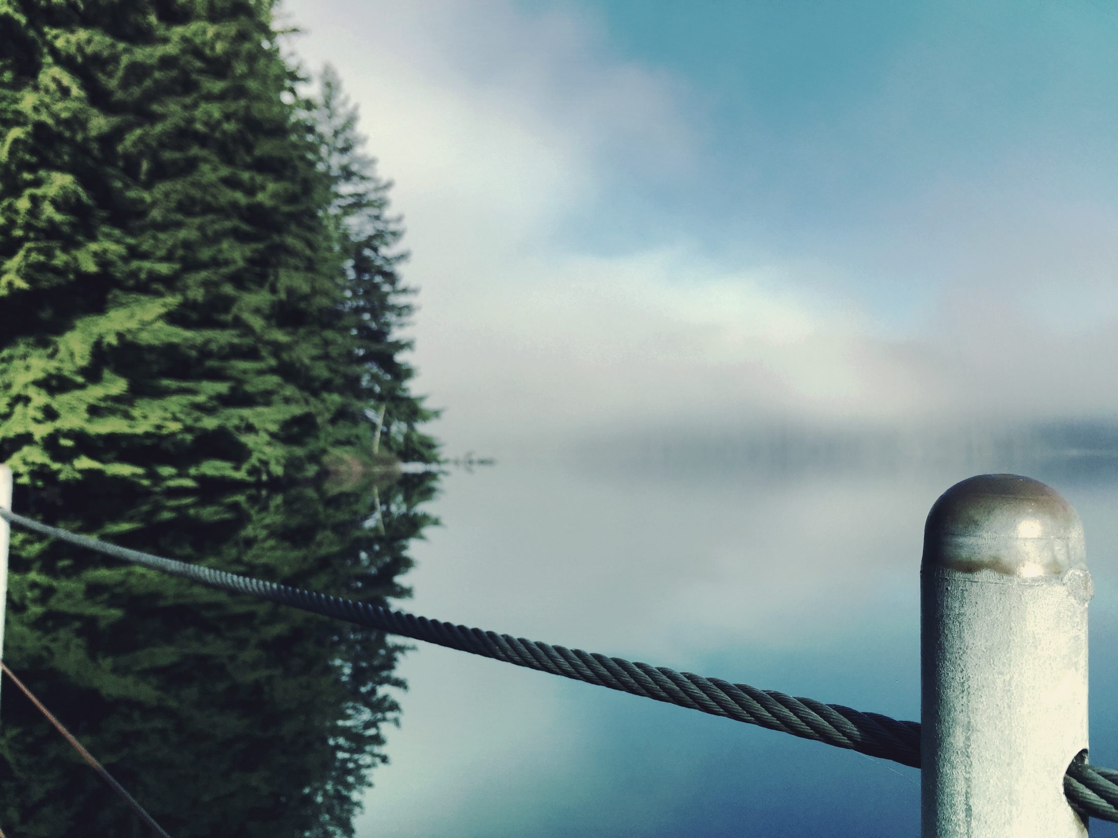 Buntzen Lake Fog